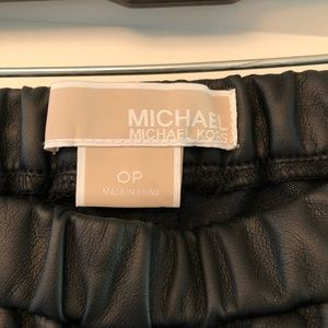 Faux leather leggings size 0 petite